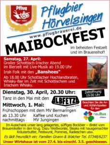 Maibockfest 1. Mai